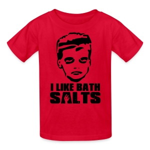 I LIKE BATH SALTS Shirt - Kids' T-Shirt