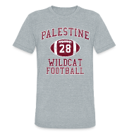 T-Shirts ~ Unisex Tri-Blend T-Shirt ~ ADRIAN PETERSON H.S. THROWBACK