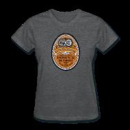 Women's T-Shirts ~ Women's T-Shirt ~ DWD Beer Label