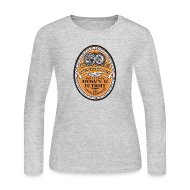 Long Sleeve Shirts ~ Women's Long Sleeve Jersey T-Shirt ~ DWD Beer Label