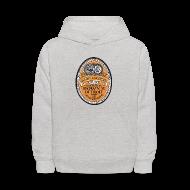 Sweatshirts ~ Kids' Hoodie ~ DWD Beer Label