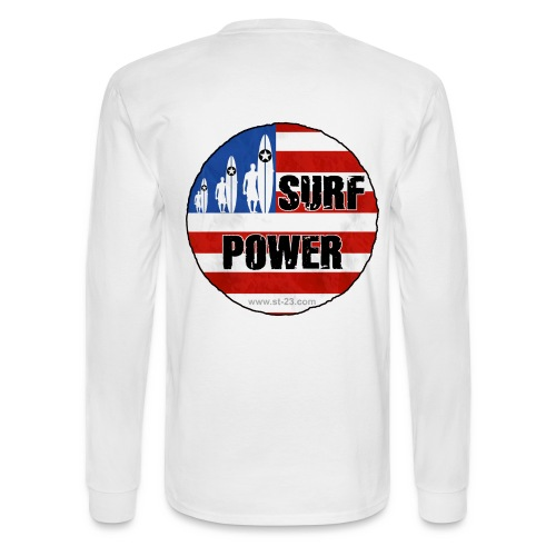 USA surf flag - Men's Long Sleeve T-Shirt