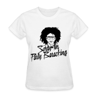 Women's T-Shirts ~ Women's T-Shirt ~ Sorry for Party Baracking 2