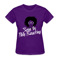 Women's T-Shirts ~ Women's T-Shirt ~ Sorry for Party Baracking