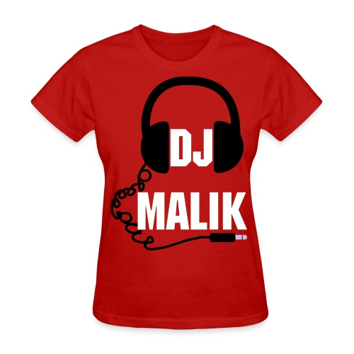 love DJ Malik tee - Women's T-Shirt