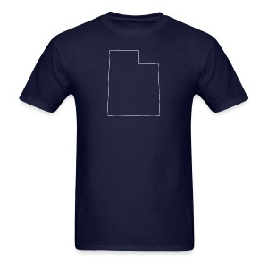Utah Outline - Men's T-Shirt