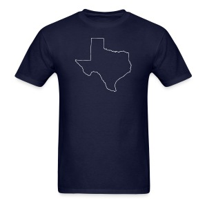 Texas Outline - Men's T-Shirt