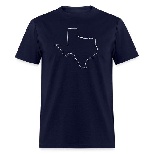 Texas Outline - Men's - Men's T-Shirt