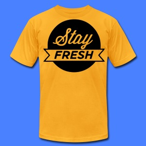 Stay Fresh T-Shirts - stayflyclothing.com - Men's T-Shirt by American Apparel