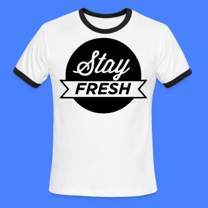 Stay Fresh T-Shirts - stayflyclothing.com - Men's Ringer T-Shirt