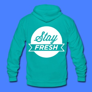 Stay Fresh Zip Hoodies/Jackets - stayflyclothing.com - Unisex Fleece Zip Hoodie by American Apparel