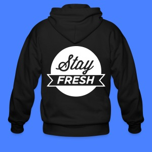 Stay Fresh Zip Hoodies/Jackets - stayflyclothing.com - Men's Zip Hoodie