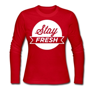 Stay Fresh Long Sleeve Shirts - stayflyclothing.com - Women's Long Sleeve Jersey T-Shirt