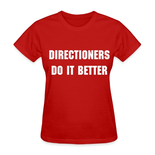 Directioners do it better tee - Women's T-Shirt