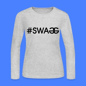 #SWAGG Long Sleeve Shirts - stayflyclothing.com - Women's Long Sleeve Jersey T-Shirt