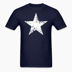 Distressed Bonnie Blue star flag tee