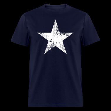 Distressed Bonnie Blue star flag tee