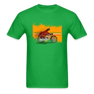 cafe racer girl [front] - Men's T-Shirt