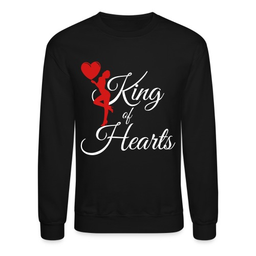 king_of_hearts Long Sleeve Shirts - Crewneck Sweatshirt