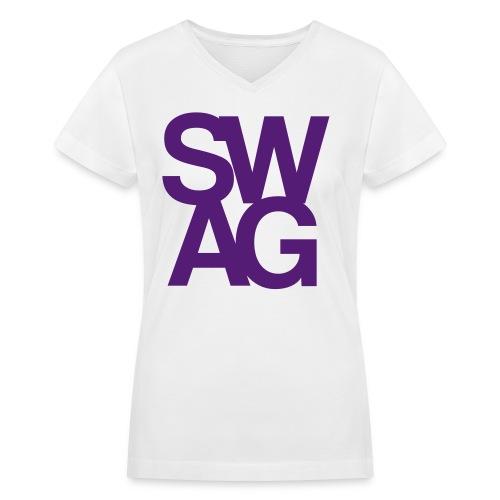 swag - Women's V-Neck T-Shirt