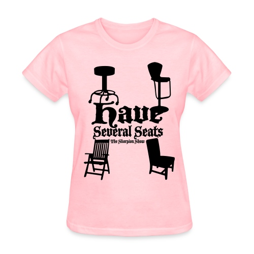 Women's T-Shirt - The Skorpion Scorpion Show Kevin Simmons Makael McClendon Bye girl fly girl have several seats no shade