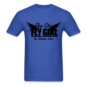 Men's T-Shirt - The Skorpion Scorpion Show Kevin Simmons Makael McClendon Bye girl fly girl have several seats no shade