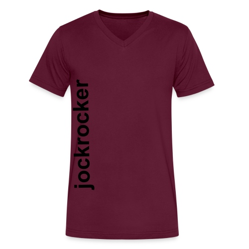 Jockrocker V-Neck - Men's V-Neck T-Shirt by Canvas