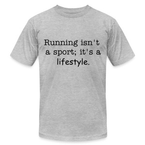 lifestyle - Men's T-Shirt by American Apparel