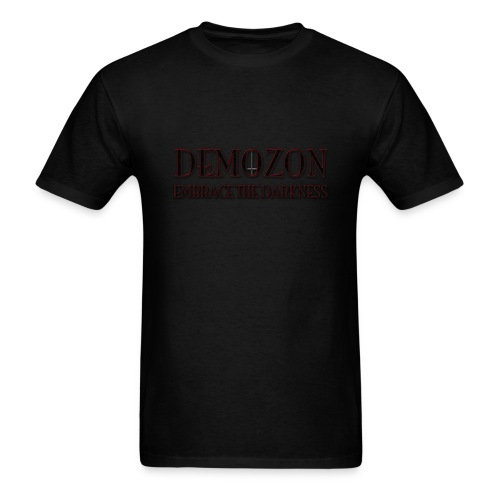 DEMOZON - Embrace The Darkness - Mens - Men's T-Shirt