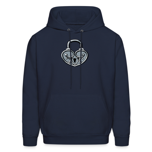 Pop My Lock 3D-Silver - Men's Hoodie