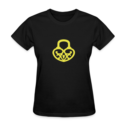 Pop My Lock-Yellow - Women's T-Shirt