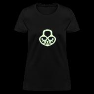 T-Shirts ~ Women's T-Shirt ~ Pop My Lock - Glow-in-the-dark