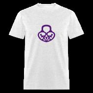 T-Shirts ~ Men's T-Shirt ~ Pop My Lock-Purple Glitter