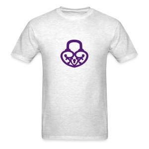 Pop My Lock-Purple Glitter - Men's T-Shirt