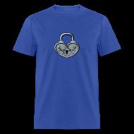 T-Shirts ~ Men's T-Shirt ~ Pop My Lock 3D-Silver