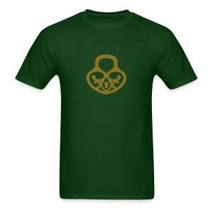 Pop My Lock-Gold Glitter - Men's T-Shirt