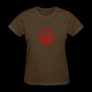T-Shirts ~ Women's T-Shirt ~ Pop My Lock-Red Glitter