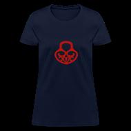 T-Shirts ~ Women's T-Shirt ~ Pop My Lock-Blue Glitter