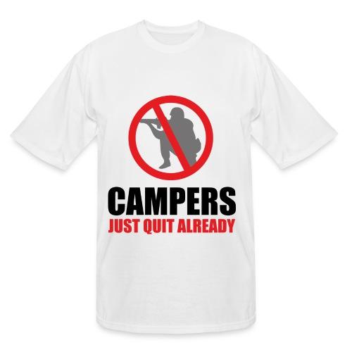 NO Campers - Men's Tall T-Shirt