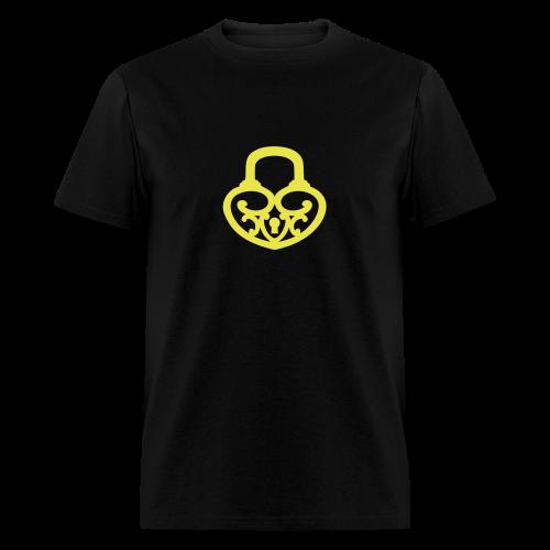 Pop My Lock-Yellow - Men's T-Shirt