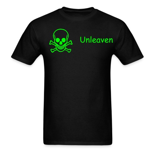 Men's T-Shirt - skull + unleaven.