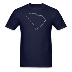 South Carolina Outline - Men's T-Shirt