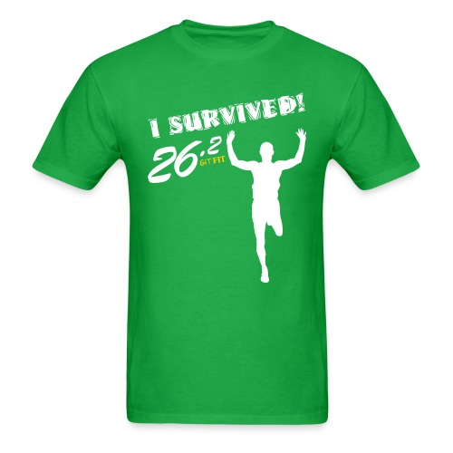 I Survived! 26.2 - Men's T-Shirt