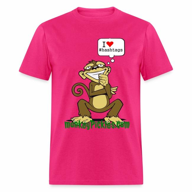 Monkey Pickles I Heart #hashtags