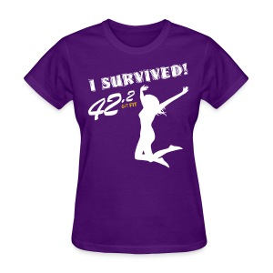 I Survived! 42.2 - Women's T-Shirt
