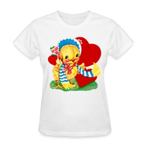 Ducky Loves You - Women's T-Shirt
