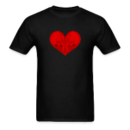 T-Shirts ~ Men's T-Shirt ~ All in Vein Love is Suicide T-Shirt