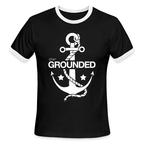 Grounded - Men's Ringer T-Shirt