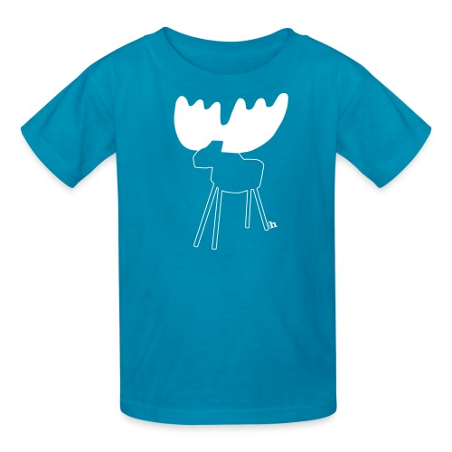 Moose! - kids' - Kids' T-Shirt