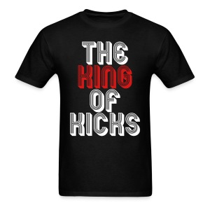 the_king_of_kicks T-Shirts - Men's T-Shirt